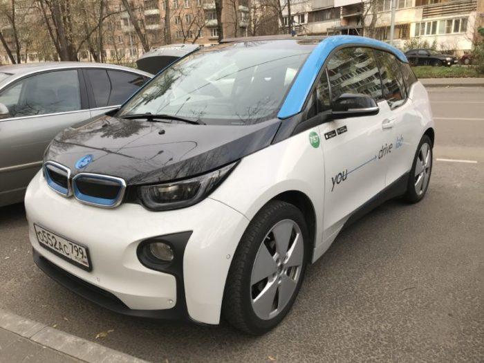 BMW I3 от Юдрайв
