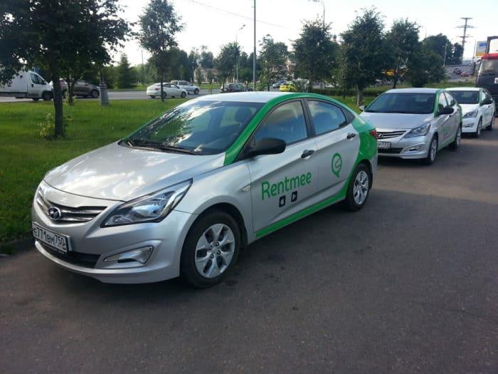 Автомобиль RentMee в Санкт-Петербурге