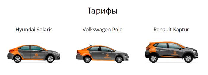 Тарифы на автомобили