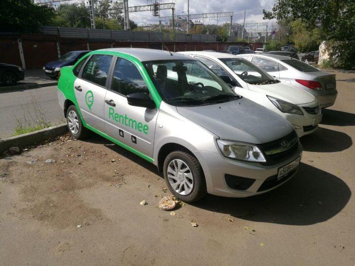 Авто компании Рентми