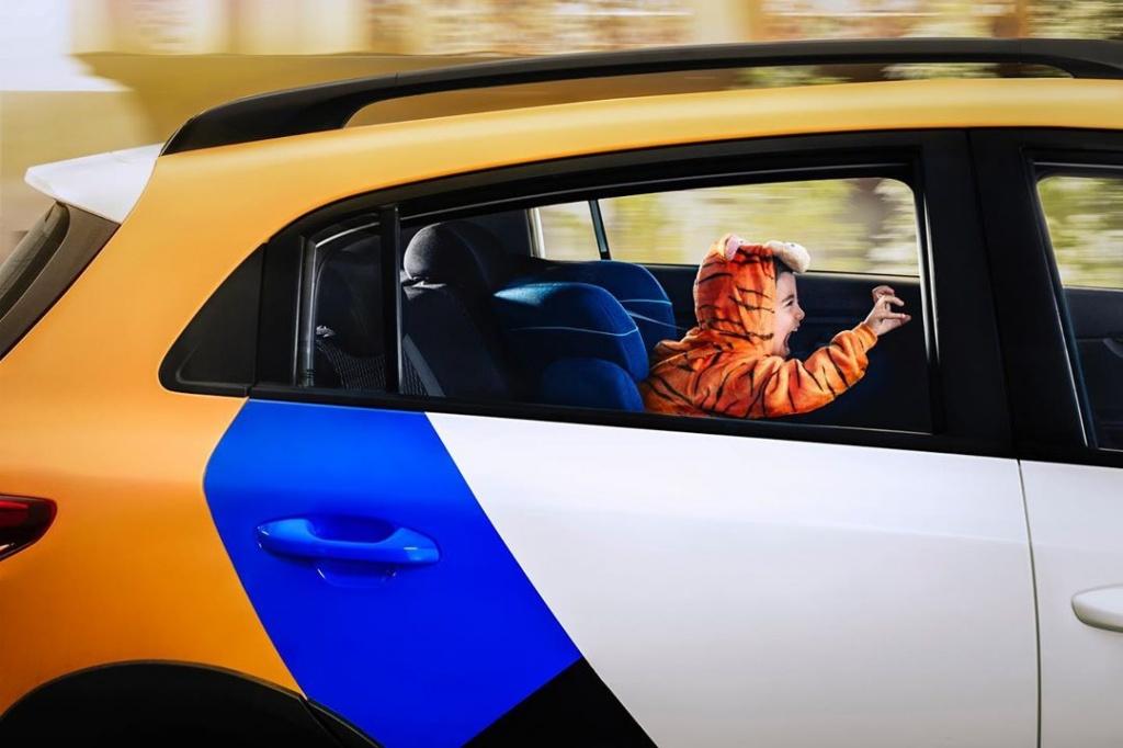 Детское кресло Яндекс.Драйв